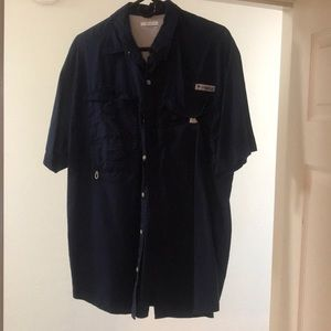Columbia button up short sleeve